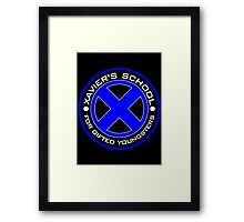Gifted school Framed Print
