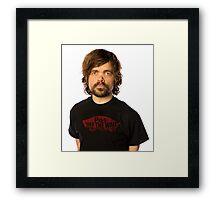 Peter Piss Off The Wall Framed Print