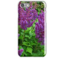 Wake up flowers iPhone Case/Skin