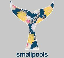 Smallpools Floral Whale's Tail Design by Dalal Semprun