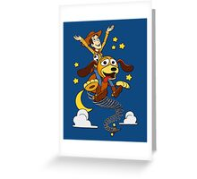 The Neverending Toy Story Greeting Card