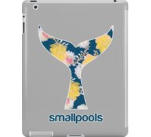 Smallpools Floral Whale's Tail Design iPad Case/Skin