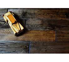 wooden car Photographic Print