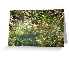spirit & butterfly Greeting Card