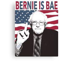 Bernie is Bae Canvas Print