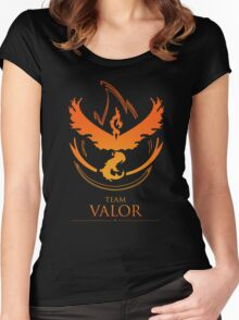 TEAM VALOR - T-Shirt / Phone Case / Mug / More Women's Fitted Scoop T-Shirt