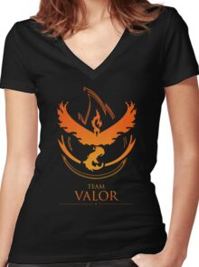 TEAM VALOR - T-Shirt / Phone Case / Mug / More Women's Fitted V-Neck T-Shirt