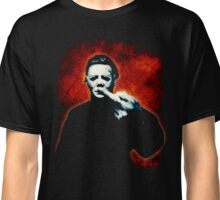 HALLOWEEN Michael Myers Finger Design Classic T-Shirt