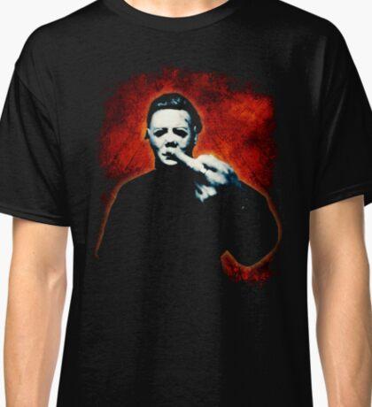 HALLOWEEN Michael Myers Finger Design Classic T-Shirt