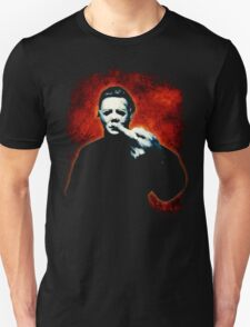 HALLOWEEN Michael Myers Finger Design Unisex T-Shirt