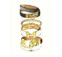 Hermes {Jewelry} #FASHION Art Print