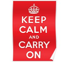 Keep Calm poster - Red Poster