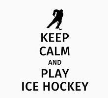 Keep Calm and Play Ice Hockey Unisex T-Shirt