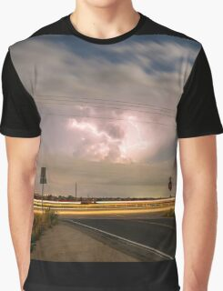 Cars Lightning and Lines Graphic T-Shirt