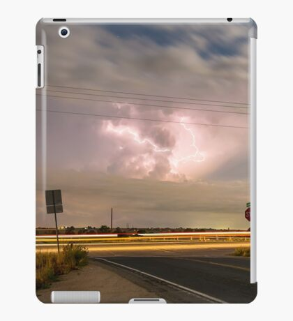 Cars Lightning and Lines iPad Case/Skin