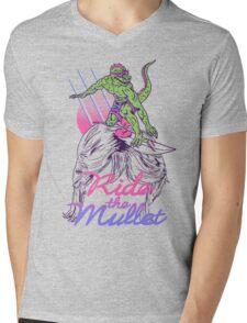 Mullet Surfer Mens V-Neck T-Shirt
