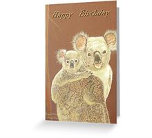 Birthday Card - Original Drawing Greeting Card
