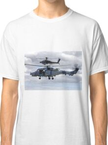AgustaWestland Wildcat HMA2 (ZZ515) & Apache AH1 Helicopters Classic T-Shirt