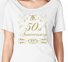 50th Wedding Anniversary Women's Relaxed Fit T-Shirt