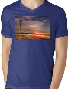 Cruising From the Storm Mens V-Neck T-Shirt