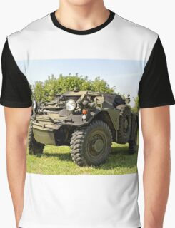 British Army Ferret Armoured Car  Graphic T-Shirt
