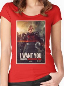 Edge of Tomorrow Women's Fitted Scoop T-Shirt