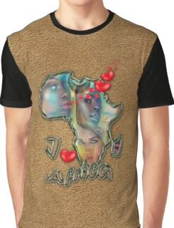I love Africa Graphic T-Shirt