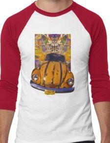 VW Bug power Men's Baseball ¾ T-Shirt