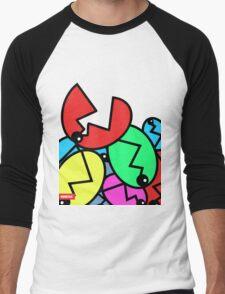 Piranha Flower - NINETAC Men's Baseball ¾ T-Shirt