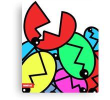 Piranha Flower - NINETAC Canvas Print