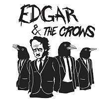 Edgar & The Crows by pijaczaj