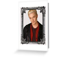 Spike - Buffy Greeting Card
