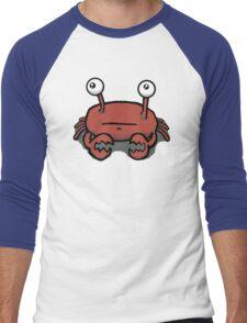 Crabbly the Crabby Crab Men's Baseball ¾ T-Shirt