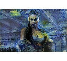 Beyonce Lemonade in Starry Night  #beyhive #sorry #lemonade Photographic Print