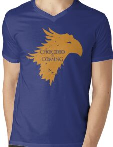Chocobo is Coming Mens V-Neck T-Shirt