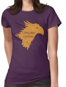 Chocobo is Coming Womens Fitted T-Shirt