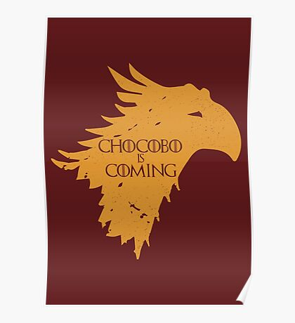 Chocobo is Coming Poster