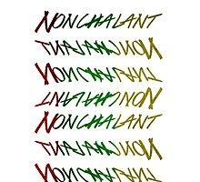 RASTA NONCHALANT by nonchalant