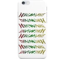 RASTA NONCHALANT iPhone Case/Skin