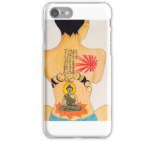 Jhene Buddah Tattoo iPhone Case/Skin