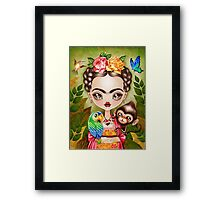 Frida Querida Framed Print
