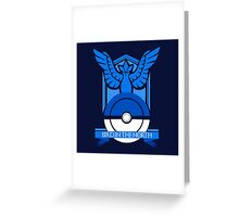 Team Mystic - Bird In The North Greeting Card