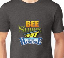 Bee Shrek Test in the House Logo Unisex T-Shirt
