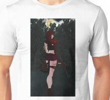 Zombie little red riding hood Unisex T-Shirt