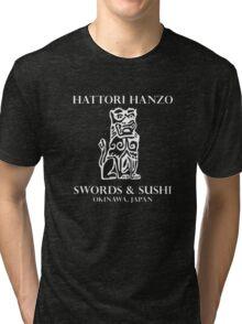 Swords & Sushi Tri-blend T-Shirt