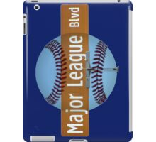 Major League Blvd. iPad Case/Skin