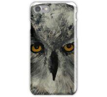 Eagle Owl Wild Bird Of Prey Acrylic Painting iPhone Case/Skin