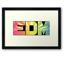 EDM Rainbow Framed Print