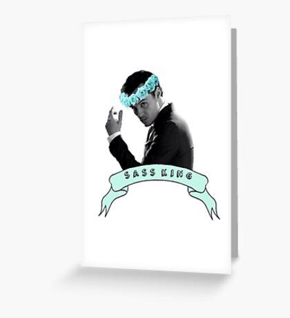 Moriarty Sass King Greeting Card