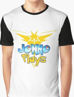 Jonno Plays Pokémon GO! Graphic T-Shirt